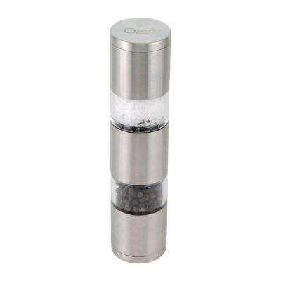 Fresko Stainless-Steel Salt and Pepper Mill and Grinder with Button-Free Operation