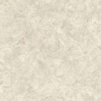 56 sq. ft. Beige Marble Wallpaper