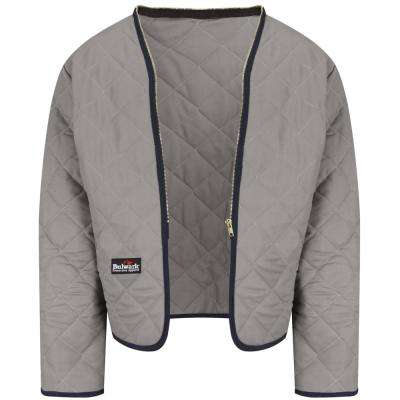 EXCEL FR Men's Grey Zip-In / Zip-Out Modaquilt Liner