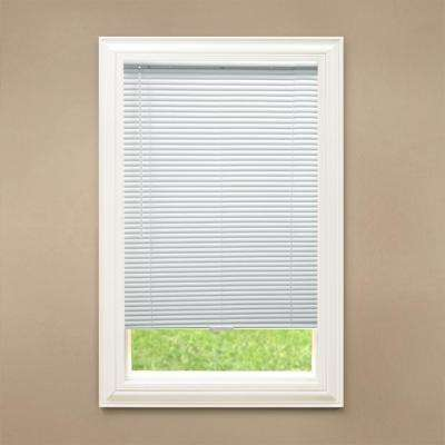 1 in. Room Darkening Cordless Vinyl Mini Blind