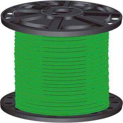 2,500 ft. 10-Gauge Green Solid CU SIMpull THHN Wire