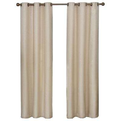 Madison Polyester Grommet Blackout Curtain