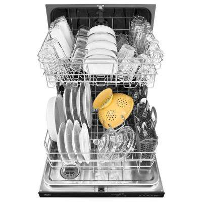 24 in. Top Control Built-In Tall Tub Dishwasher in Fingerprint Resistant Stainless Steel with Fan Dry