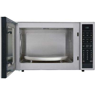 1.5 cu. ft. Countertop Convection Microwave in Stainless Steel, Built-In Capable with Sensor Cooking