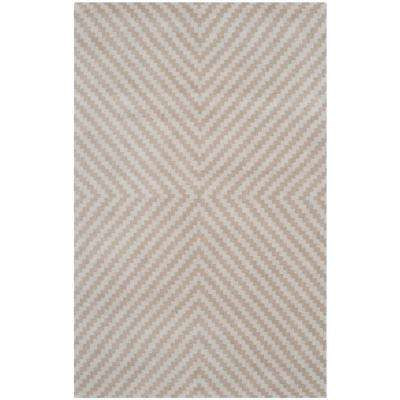 Cambridge Grey/Taupe 4 ft. x 6 ft. Area Rug
