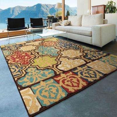 Yonder Multi 8 ft. x 11 ft. Indoor/Outdoor Area Rug