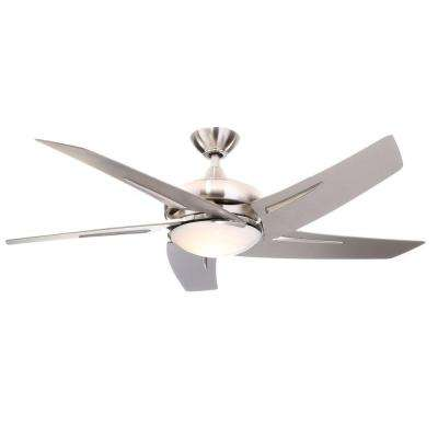 Sidewinder 54 in. Brushed Nickel Ceiling Fan