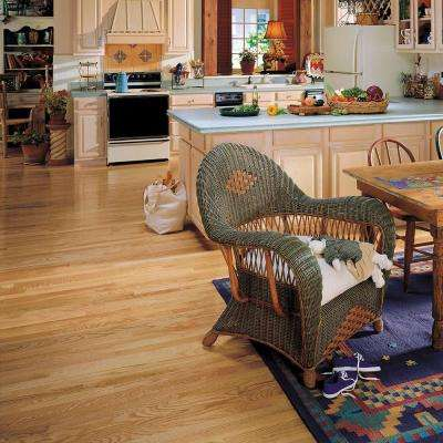 Natural Reflections Oak Natural 5/16 in. Thick x 2-1/4 in. Wide x Random Length Solid Hardwood Flooring (40 sq.ft./case)