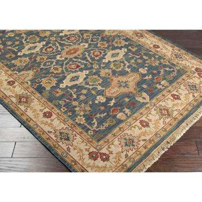 Rochester Blue 4 ft. x 10 ft. Runner Rug