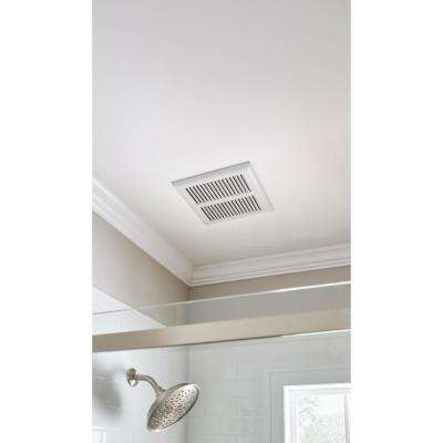 80 CFM Ceiling Mount Roomside Installation Heavy-Duty Bathroom Exhaust Fan