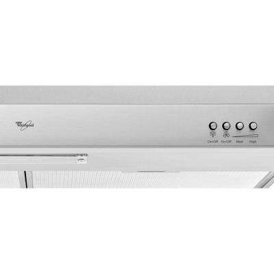 Gold 30 in. Under Cabinet Range Hood in Stainless Steel