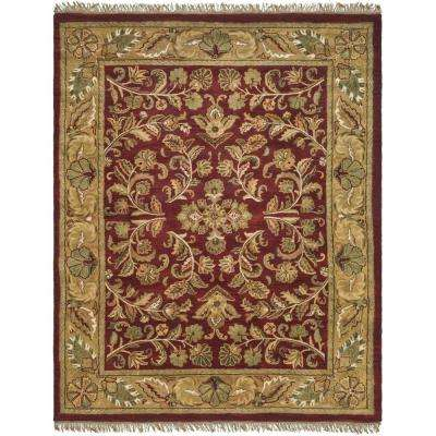 Heritage Red/Gold 8 ft. 3 in. x 11 ft. Area Rug