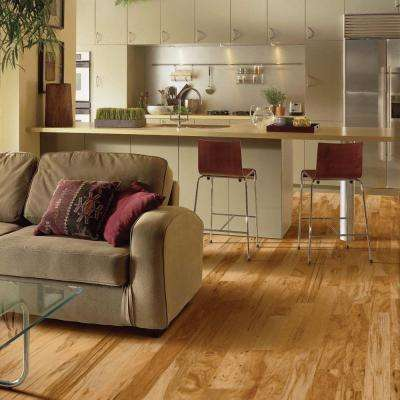 Hickory Rustic Natural 3/8 in. Thick x 3 in. Wide x Varying Length Engineered Hardwood Flooring (28 sq. ft. / case)