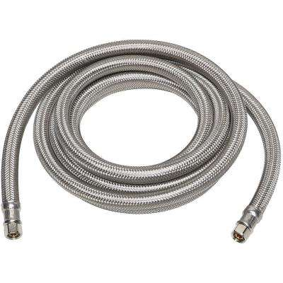 1/4 in. x 1/4 in. x 120 in. Stainless Steel Ice Maker Supply Line