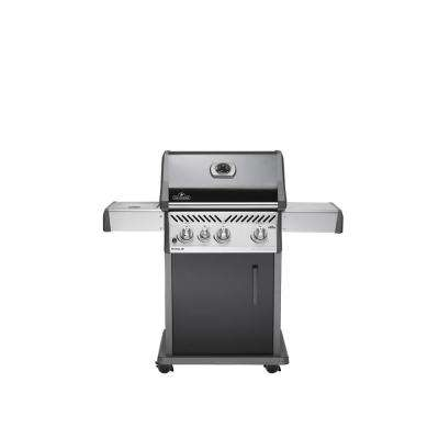 Rogue 425 with Range Side Burner Propane Gas Grill