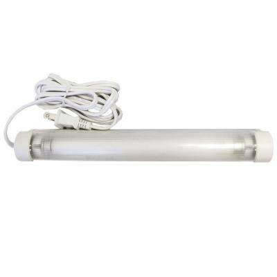 Fluorescent Linkable 1-Light 9 in. White Task Light