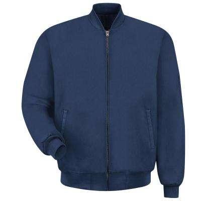 Men's Navy Solid Team Jacket
