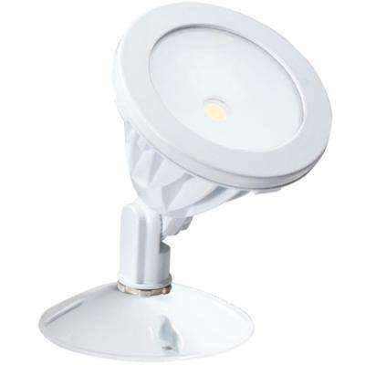 White LED Outdoor Wall-Mount Flood Light