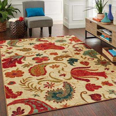 Tropical Acres Multi 2 ft. x 3 ft. Area Rug