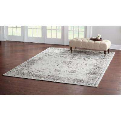 Old Treasures Gray 2 ft. x 7 ft. Runner Rug