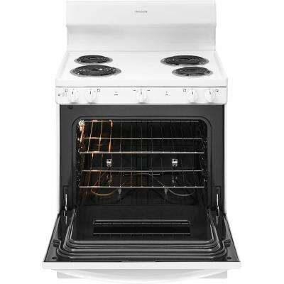 30 in. 4.2 cu. ft. Electric Range in White