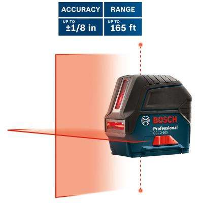 Self-Leveling Cross-Line Laser Level with Plumb Points