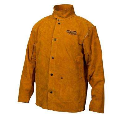 Heavy Duty Large Leather Welding Jacket