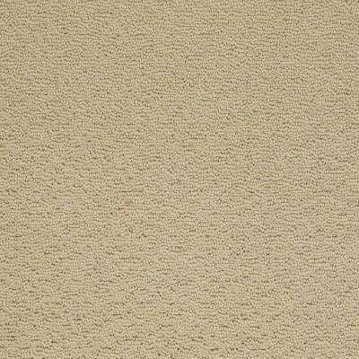 Carpet Sample - Majestic II - Color Wheat Bread Loop 8 in. x 8 in.