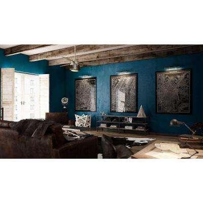 Glen Arbor 56 in. LED Indoor Metallic Birch Ceiling Fan