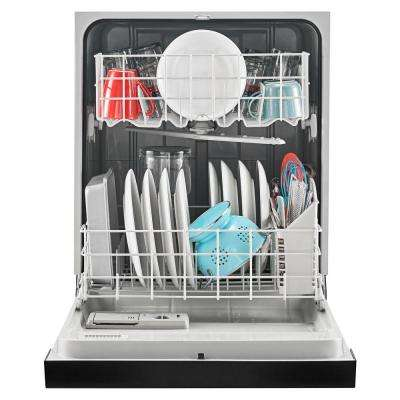 Front Control Built-In Tall Tub Dishwasher in Black with Triple Filter Wash System, 63 dBA