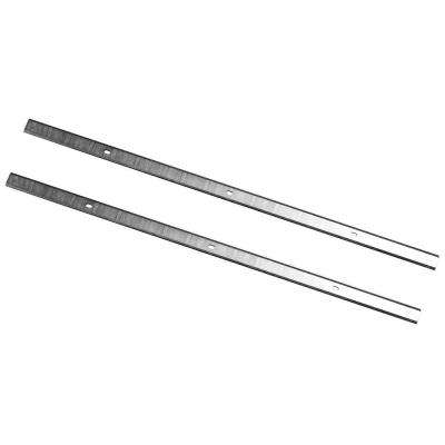 12 in. x 15/32 in. x 1/16 in. High-Speed Steel Planer Knives (Set of 2)