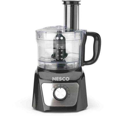 8-Cup Food Processor in Black