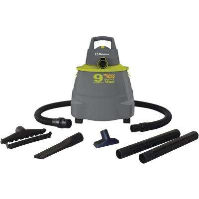 Vacuum Cleaner with 9 Gal. Tank