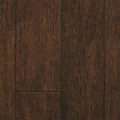 Walnut 0.35 in. Thick x 5 in. Wide x Varying Length Engineered HDF Bamboo Flooring (40.01 sq. ft. / case)