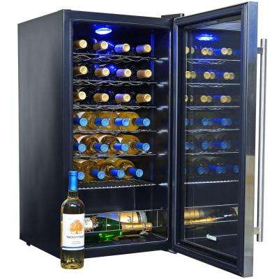 27-Bottle Compressor Wine Cooler