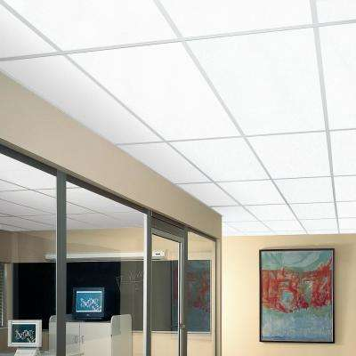 Yuma White 2 ft. x 4 ft. Lay-in Ceiling Panel (Case of 8)