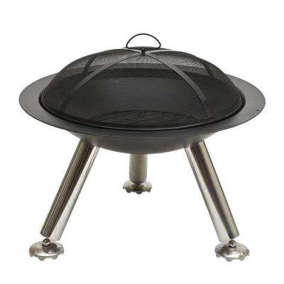 27 in. Cast Iron Fire Pit