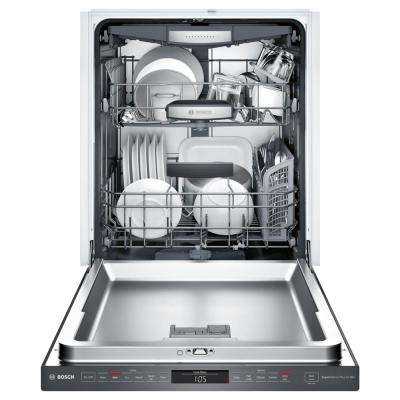800 Series Top Control Tall Tub Dishwasher in Black Stainless with Stainless Steel Tub and EasyGlide Rack System, 42dBA