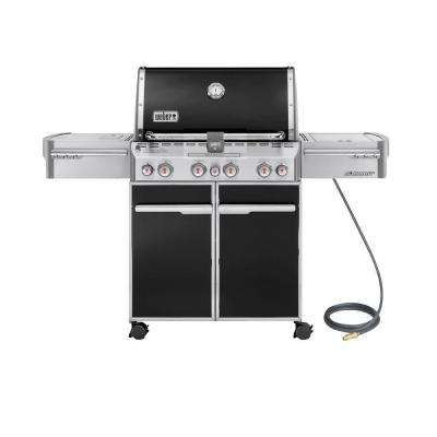 Summit E-470 4-Burner Natural Gas Grill in Black
