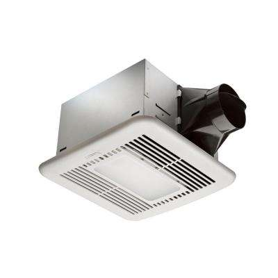 80 CFM Ceiling Exhaust Fan with LED Light and Nightlight