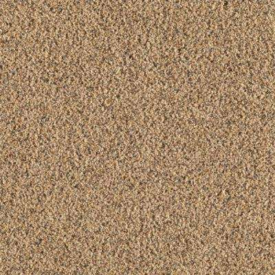 Carpet Sample - Old Ivy II - Color Wheatland Texture 8 in. x 8 in.