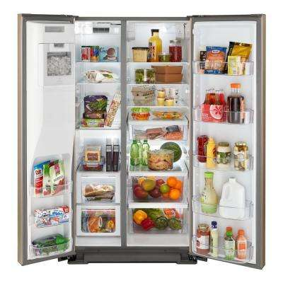 28 cu. ft. Side by Side Refrigerator in Sunset Bronze