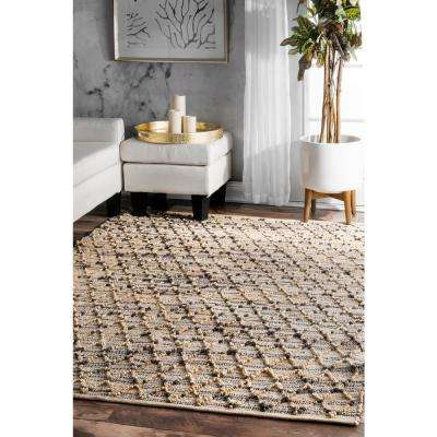 Renee Natural 5 ft. x 8 ft. Area Rug