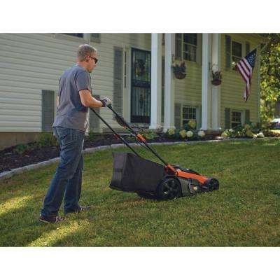 20 in. 40-Volt Max Lithium Ion Cordless Electric Walk Behind Push Mower w/ (2) 2.0Ah Batteries/Charger