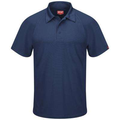 Men's Navy Active Performance Polo