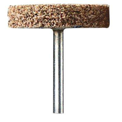 1 in. Aluminium Oxide Abrasive Rotary Tool Wheel for Rust Removal, Polishing, and Grinding