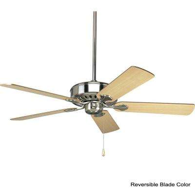 AirPro Performance 52 in. Indoor Brushed Nickel Ceiling Fan