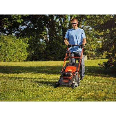 20 in. 60-Volt Lithium Ion Cordless Electric Walk Behind Push Mower w/ (2) 2.5 Ah Batteries/Charger Included