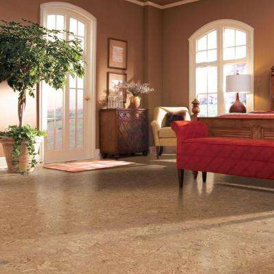 Natural Fossil Plank 13/32 in. Thick x 11-5/8 in. Wide x 36 in. Length Cork Flooring (22.99 sq. ft. / case)
