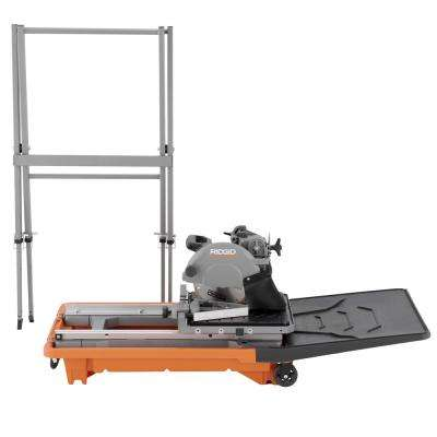 12 Amp Corded 8 in. Wet Tile Saw with Stand